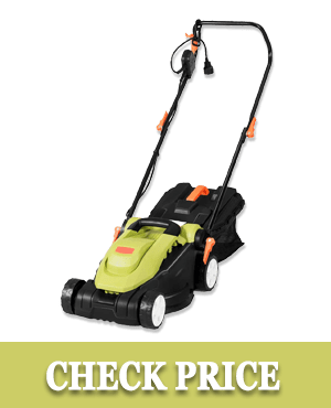 Goplus Lawn Mower, Grass Cutting Machine