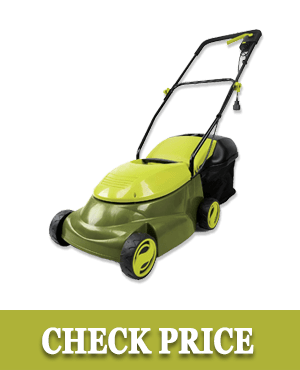 Sun Joe MJ401E-PRO Lawn Mower w/Side Discharge Chute