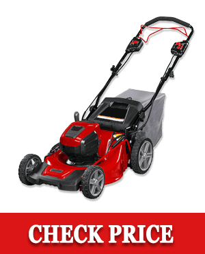 Snapper HD 48V MAX Cordless Electric Self-Propelled Lawn Mower