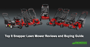 Top 9 Snapper Lawn Mower Reviews and Buying Guide