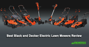 Black and Deckar Electric Lawn Mower Review
