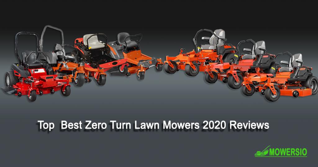 Top 8 Zero-turn Lawn Mowers 2020