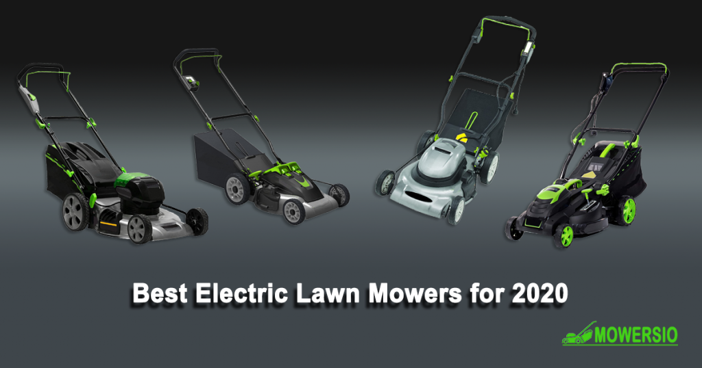 Best Electric Lawn Mowers for 2020