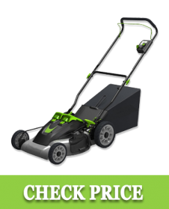 Earthwise 60420 20-Inch Cordless Electric Lawn Mower