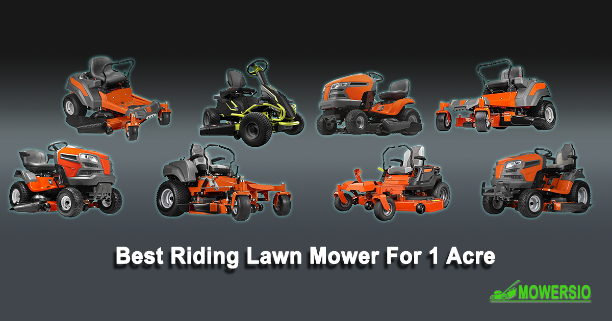 Best Riding Lawn Mower For 1 Acre 2021