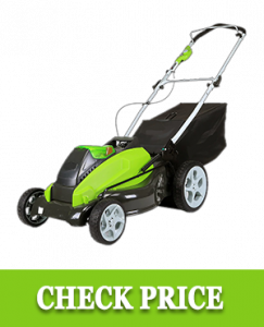 Greenworks 19-Inch 40V Cordless Lawn Mower