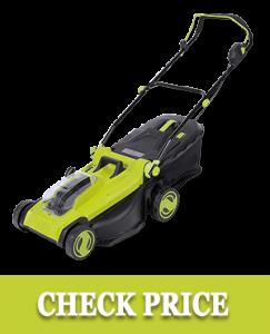 Sun Joe 24V-X2-17LM 48-Volt 17-Inch Mulching Walk-Behind Lawn Mower w/Grass