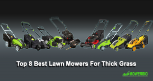 Top 8 Best Lawnmowers for Thick Grass