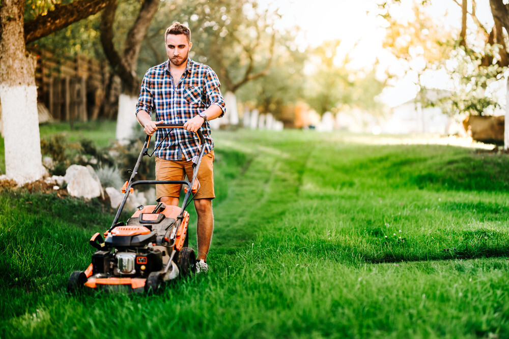 How Many Calories Does Mowing Burn?